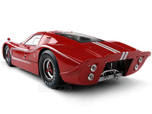 Load image into Gallery viewer, 1967 Ford GT-40 (GT40) Mk IV 1:18 Scale - Shelby Collectables Diecast Model Car (Red)