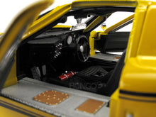 Load image into Gallery viewer, 1967 Ford GT-40 (GT40) Mk IV 1:18 Scale - Shelby Collectables Diecast Model Car (Yellow)