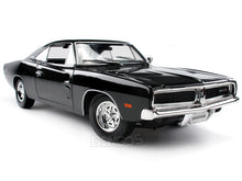 Load image into Gallery viewer, 1969 Dodge Charger R/T 1:18 Scale - Maisto Diecast Model Car (Black)