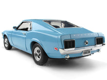Load image into Gallery viewer, 1970 Ford Boss 429 Mustang 1:18 Scale - MotorMax Diecast Model Car (Blue)