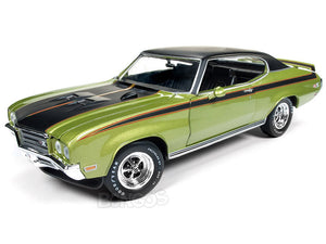 1971 Buick Skylark GSX Stage 1 1:18 Scale - AutoWorld Diecast Model Car (Green)