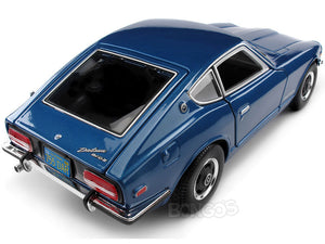 1971 Datsun 240Z 1:18 Scale - Maisto Diecast Model Car (Blue)