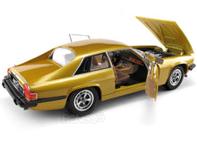 Load image into Gallery viewer, 1975 Jaguar XJS Coupe 1:18 Scale - Yatming Diecast Model Car (Gold)
