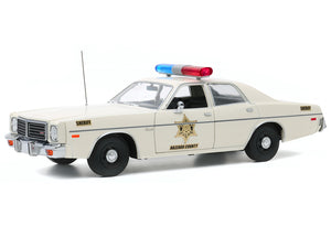 "Dukes of Hazzard - 1977 Plymouth Fury ""Hazzard County"" 1:18 Scale - Greenlight Diecast Model Car"