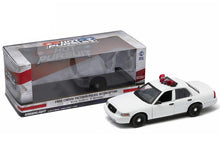 "Load image into Gallery viewer, Ford Crown Victoria Police Interceptor ""Light & Sound"" (Blank) 1:18 Scale - Greenlight Diecast Model Car (White)"