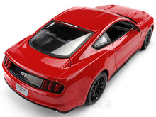 Load image into Gallery viewer, 2015 Ford Mustang GT 1:18 Scale - Maisto Diecast Model Car (Red)