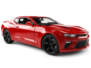 2016 Chevy Camaro SS 1:18 Scale - Maisto Diecast Model Car (Red)