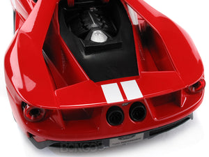 2017 Ford GT #1 1:18 Scale - Maisto Diecast Model Car (Red)