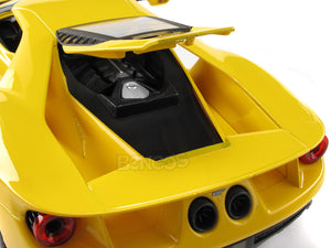 2017 Ford GT 1:18 Scale - Maisto Diecast Model Car (Yellow)