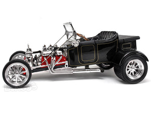 "1923 Ford Model T ""T-Bucket"" 1:18 Scale - Yatming Diecast Model Car (Black)"