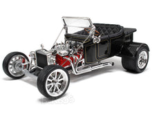 "Load image into Gallery viewer, 1923 Ford Model T ""T-Bucket"" 1:18 Scale - Yatming Diecast Model Car (Black)"