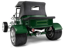 "Load image into Gallery viewer, 1923 Ford Model T ""T-Bucket"" 1:18 Scale - Yatming Diecast Model Car (Green/Roof)"