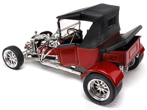 "1923 Ford Model T ""T-Bucket"" 1:18 Scale - Yatming Diecast Model Car (Red/Roof)"