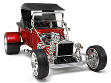 "Load image into Gallery viewer, 1923 Ford Model T ""T-Bucket"" 1:18 Scale - Yatming Diecast Model Car (Red/Roof)"