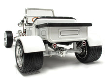 "Load image into Gallery viewer, 1923 Ford Model T ""T-Bucket"" 1:18 Scale - Yatming Diecast Model Car (White)"