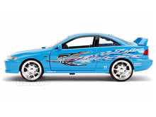 "Load image into Gallery viewer, ""Fast & Furious"" Mia's Acura Integra 1:24 Scale - Jada Diecast Model Car (Blue)"