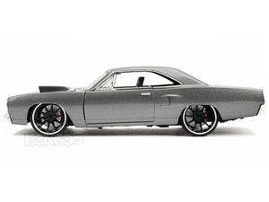 """Fast & Furious"" Dom's Plymouth Road Runner 1:24 Scale - Jada Diecast Model Car (Grey)"