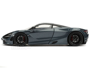 """Fast & Furious - Hobbs & Shaw"" Shaw's McLaren 720S 1:24 Scale - Jada Diecast Model Car (Blue)"