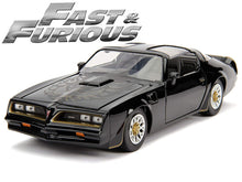 "Load image into Gallery viewer, ""Fast & Furious"" Tego's 1977 Pontiac Firebird 1:24 Scale - Jada Diecast Model Car"