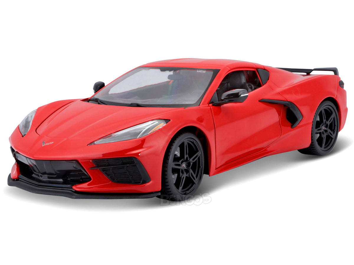 2020 Chevy Corvette Stingray C8 1:18 Scale - Maisto Diecast Model Car