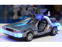 "Load image into Gallery viewer, ""Back To The Future II"" DMC Delorean Time Machine 1:24 Scale - Jada Diecast Model Car"