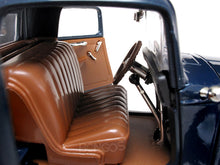 Load image into Gallery viewer, 1932 Ford Coupe (3 Window) 1:18 Scale - Yatming Diecast Model Car (Blue)