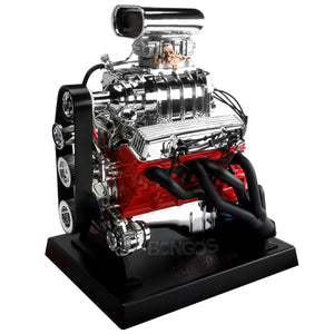 Chevrolet Blown Hot Rod 1:6 Scale Replica Engine - Liberty Classics Model