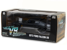 "Load image into Gallery viewer, ""Last of the V8 Interceptors"" 1973 Ford Falcon XB Coupe (Mad Max) 1:24 Scale - Greenlight Diecast Model Car"