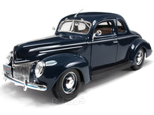 Load image into Gallery viewer, 1939 Ford Deluxe Coupe 1:18 Scale - Maisto Diecast Model Car (Blue)