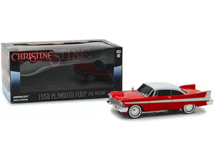 """Christine"" 1958 Plymouth Fury ""EVIL Version"" 1:24 Scale - Greenlight Diecast Model Car"