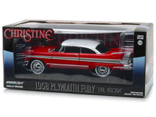 "Load image into Gallery viewer, ""Christine"" 1958 Plymouth Fury ""EVIL Version"" 1:24 Scale - Greenlight Diecast Model Car"