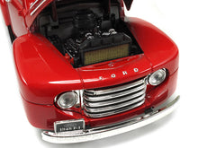 Load image into Gallery viewer, 1948 Ford F-1 Pickup 1:18 Scale - Yatming Diecast Model Car (Red)