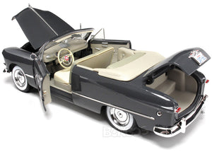 1949 Ford Convertible 1:18 Scale - Maisto Diecast Model Car (Grey)