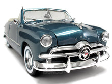 Load image into Gallery viewer, 1949 Ford Convertible 1:18 Scale - Maisto Diecast Model Car (Turquoise)