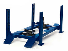Load image into Gallery viewer, 4-Post Lift (Hoist) 1:18 Scale - Greenlight Diecast Model (Blue)