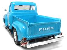 Load image into Gallery viewer, 1953 Ford F-100 Pickup 1:18 Scale - Yatming Diecast Model Car (Light Blue)