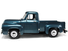 Load image into Gallery viewer, 1953 Ford F-100 Pickup 1:18 Scale - Yatming Diecast Model Car (Blue)