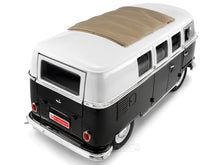 "Load image into Gallery viewer, 1962 VW Microbus ""Kombi"" ""LTD ED. 1 of 600pcs""1:18 Scale - Yatming Diecast Model Car (Black)"