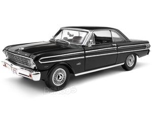 1964 Ford Falcon Coupe 1:18 Scale- Yatming Diecast Model Car (Black)