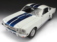 Load image into Gallery viewer, 1966 Shelby GT350 (Mustang) 1:18 Scale - Shelby Collectables Diecast Model Car (White)