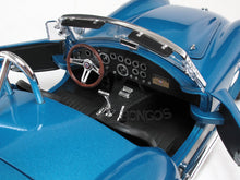 "Load image into Gallery viewer, 1965 Shelby Cobra ""Super-Snake"" 1:18 Scale - Shelby Diecast Model Car (Lt.Blue)"