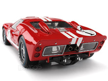 Load image into Gallery viewer, 1966 Ford GT-40 (GT40) Mk II #1 1:18 Scale - Shelby Collectables Diecast Model Car (Red)