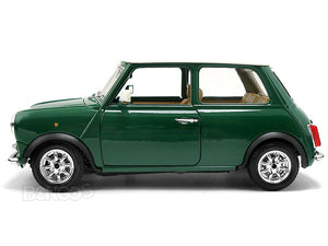 1969 Mini Cooper 1:16 Scale - Bburago Diecast Model (Green)