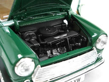 Load image into Gallery viewer, 1969 Mini Cooper 1:16 Scale - Bburago Diecast Model (Green)