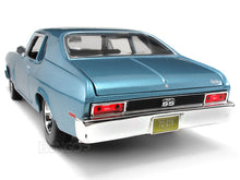 Load image into Gallery viewer, 1970 Chevy Nova SS 396 1:18 Scale - Maisto Diecast Model Car (Blue)