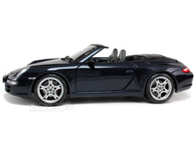 Load image into Gallery viewer, Porsche 911 (997) Carrera S Cabriolet 1:18 Scale - Maisto Diecast Model Car (Blue)