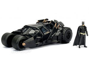 Batmobile - The Dark Knight Tumbler w/ Batman Figure 1:24 Scale - Jada Diecast Model