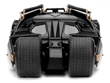Load image into Gallery viewer, Batmobile - The Dark Knight Tumbler w/ Batman Figure 1:24 Scale - Jada Diecast Model