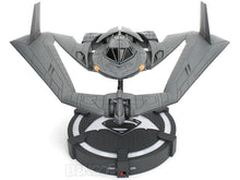 Load image into Gallery viewer, BATWING - Batman vs Superman w/ Batman Figure & Illuminated Display Stand 1:32 Scale - Jada Diecast Model
