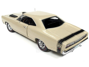 1969 Dodge Coronet Super Bee 383 1:18 Scale - Autoworld Diecast Model Car (Beige)